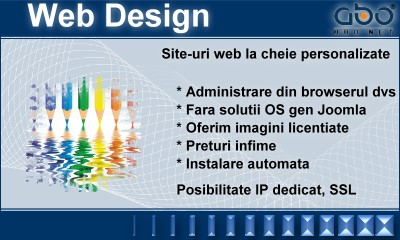 Web Design LIGHT Hosting web gazduire pagina .com